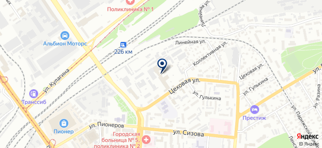 ПРОТОН, ООО на карте