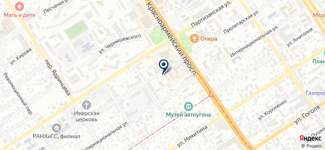 Daewoo Enertec Барнаул на карте