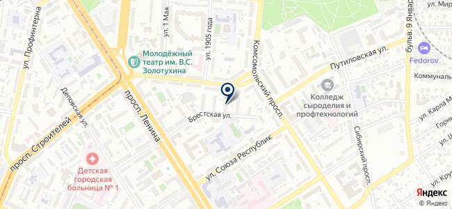 Магазин-салон уникальных товаров XXXI век на карте