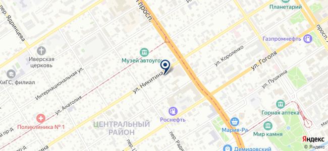 Мото-мир сервис на карте