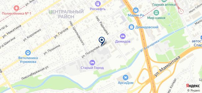 Трастинвест на карте