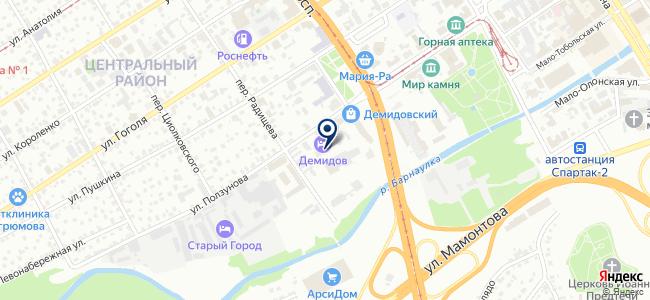 Акцент-Сервис на карте