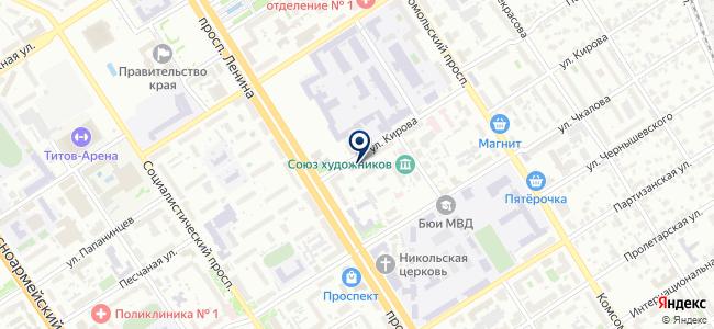 УчМаркет на карте