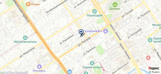 Этнис на карте