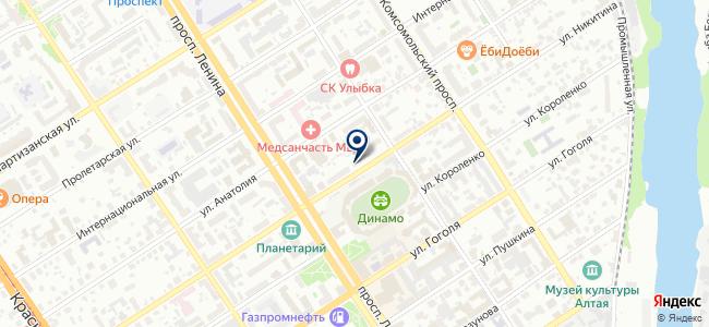 Локкард, ООО на карте