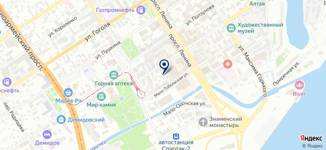 Алтайэлектро, ООО на карте