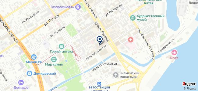 Хозмакс на карте