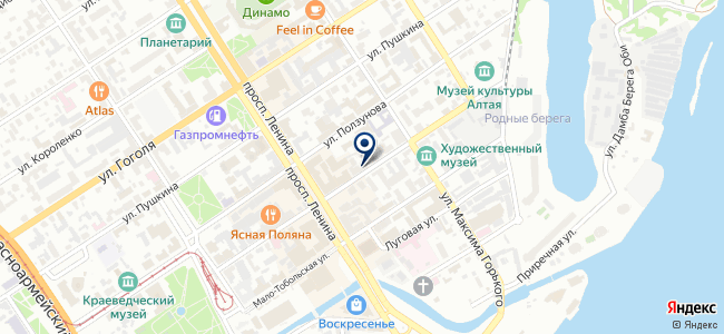 Элсервис ЭТЛ на карте