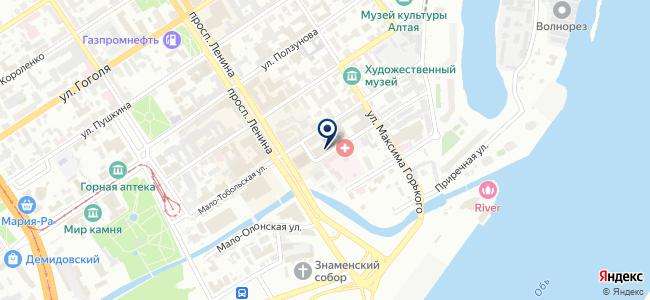 Эла, ООО на карте