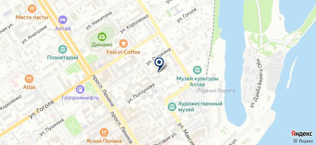 Теплый пол на Максима Горького на карте