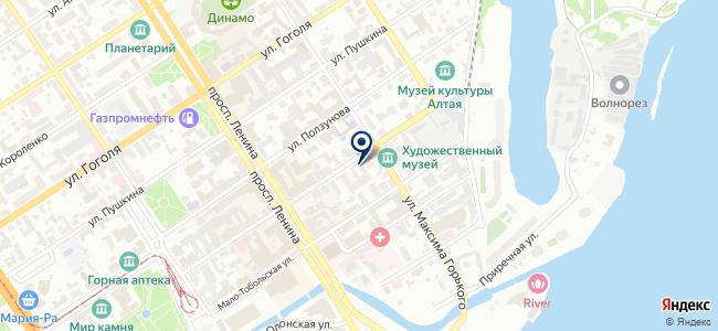 АлтайСвет, ООО на карте