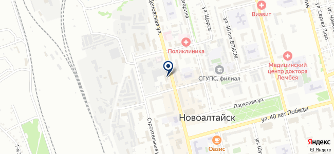 Алтайэнергосбыт, ОАО на карте