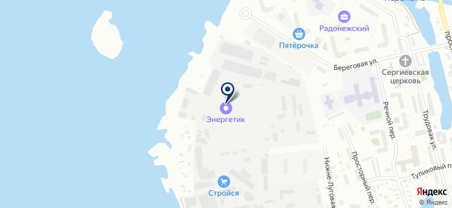 Энергетик, ЗАО на карте