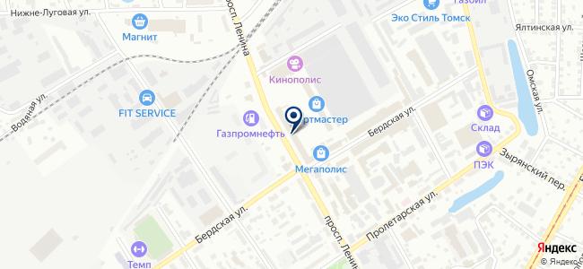 Бармалей на карте