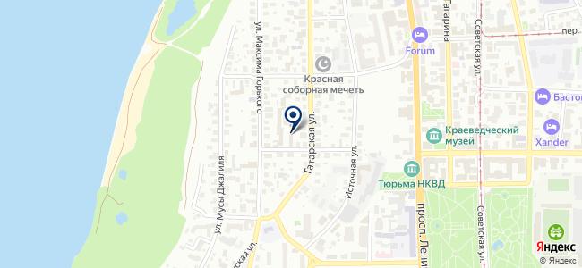 Источное на карте