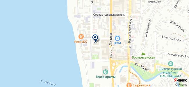 НЕД-Пермь на карте