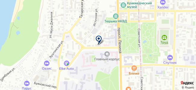 Маквис, ООО на карте