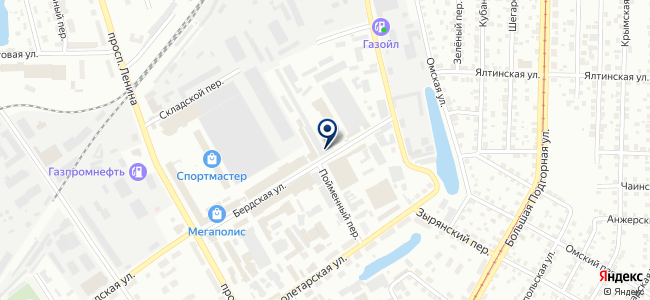 ОблТорг, ООО на карте