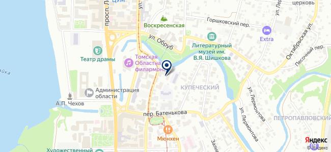 Янтарь, ООО на карте