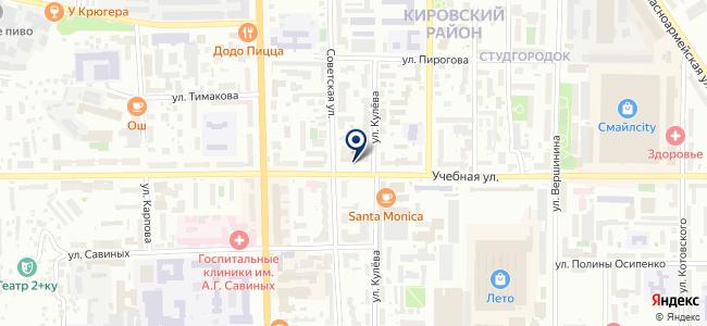 Том-электрон, ООО на карте