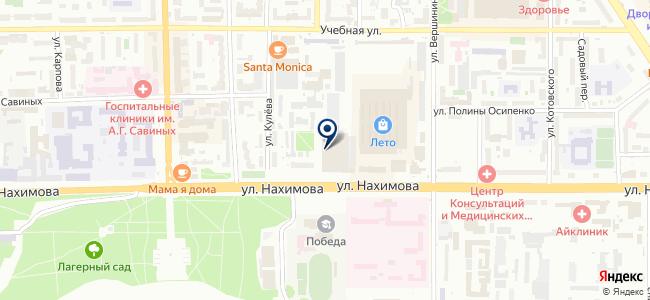 Сибирские просторы, ООО на карте