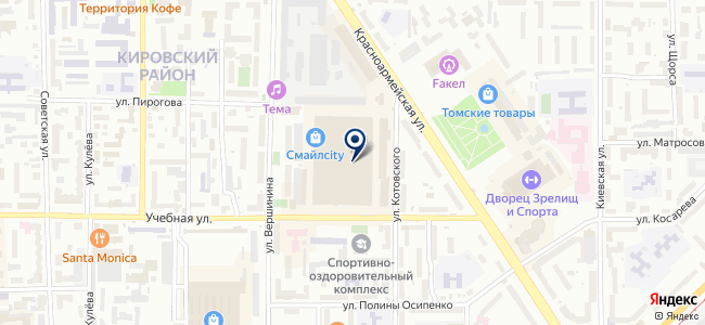 ТомскЕвроРемонт на карте