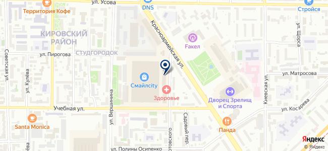 Томскэнергобаланс, ЗАО на карте