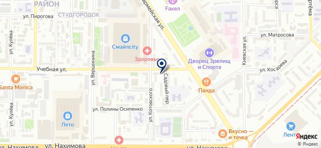 Антенное поле на карте