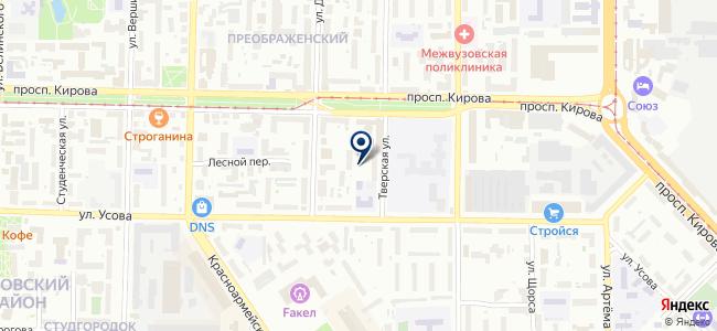Гибрид-Сервис на карте