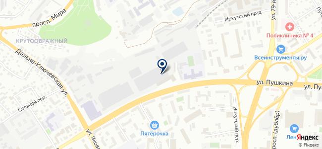 Сибкабель, ЗАО на карте