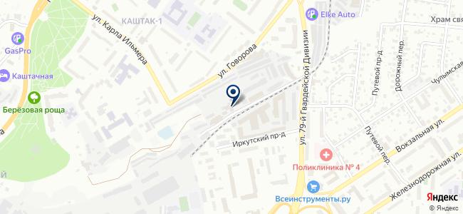 Динар, ООО на карте