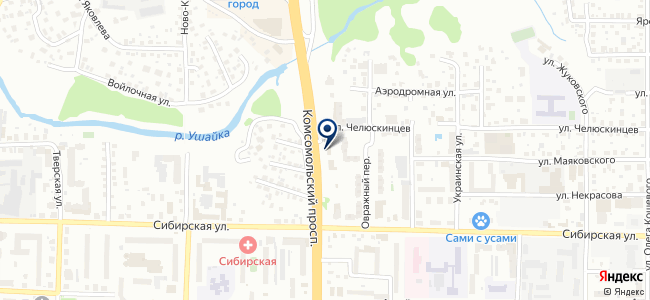 Электрические системы, ООО на карте