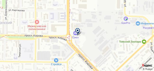 Институт интроскопии, ООО на карте