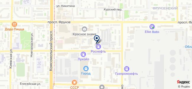 ЭТИС-сервис на карте