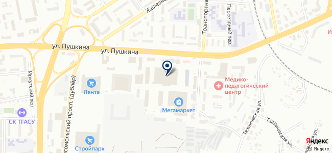 Томскэнергосбыт, ОАО на карте
