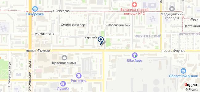 Брандмейстер, ООО на карте