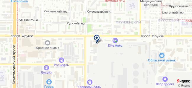 Альянс-сервис, ООО на карте