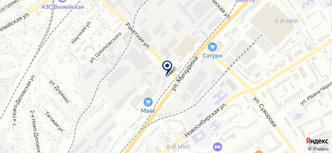 ТК-СантЭл на карте