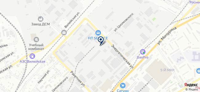 Стройкомплект, ЗАО на карте
