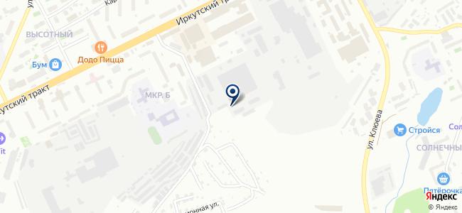 ТомскАвтоТранс, ООО на карте