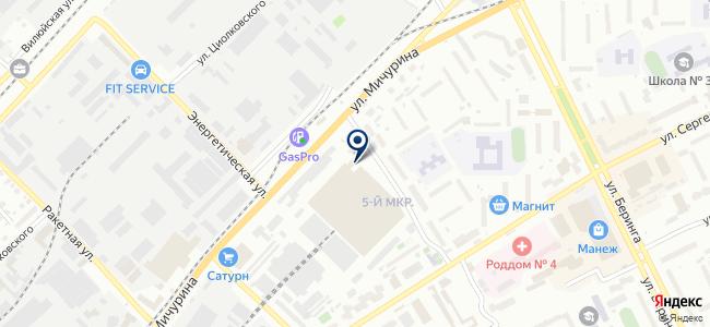 Элна на карте