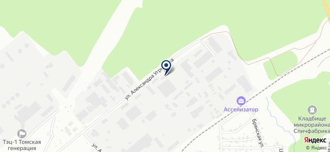 Сибэлектромонтаж, ЗАО на карте