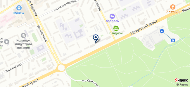 Бензотехника на карте