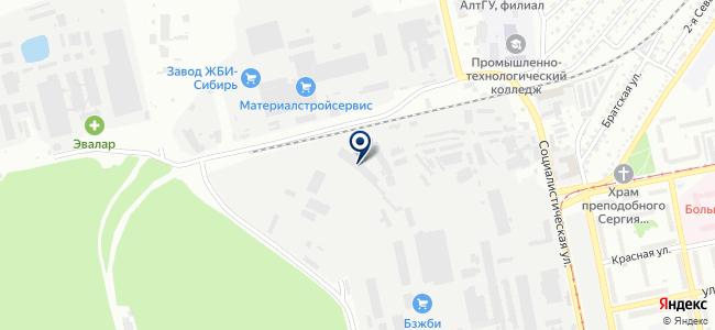 Бийский завод стеклопластиков, ООО на карте