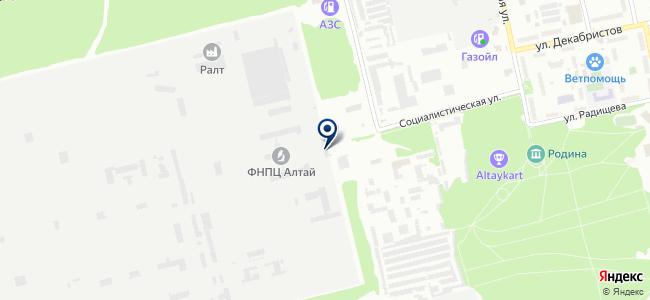 Техобслуживание, ЗАО на карте