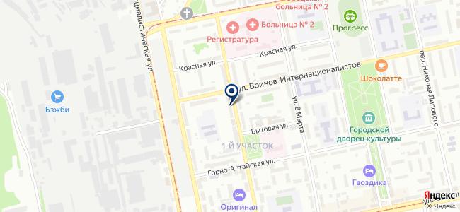 Аварийно-обслуживающая компания на карте