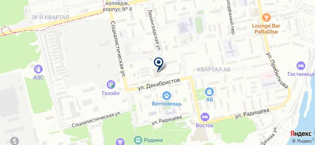 СантехАква на карте