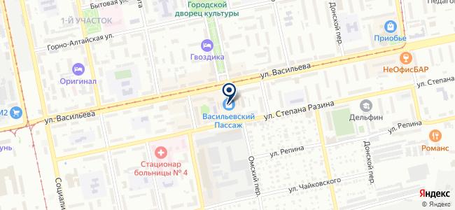 Магазин штор и люстр на карте