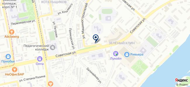 Олимп-Алтай на карте
