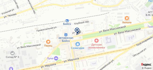 Электроинструменты на карте